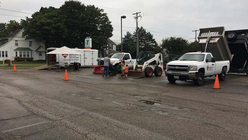 Marcelli's Lawn Care at Touch-A-Truck